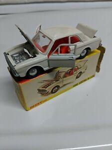 Dinky-Toys-Ford-Cortina-De-Luxe-N-159-1967-Blanco-Hecho-en-Inglaterra-con-caja