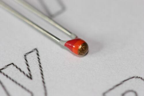 10x Vishay 22K bola de termistor 500mW NTC de 5/% 2322-640-63223