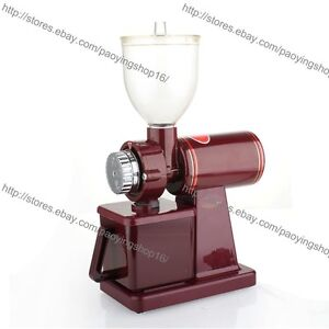 Image Is Loading Commercial Home Electric Mini Auto Burr Mill Espresso