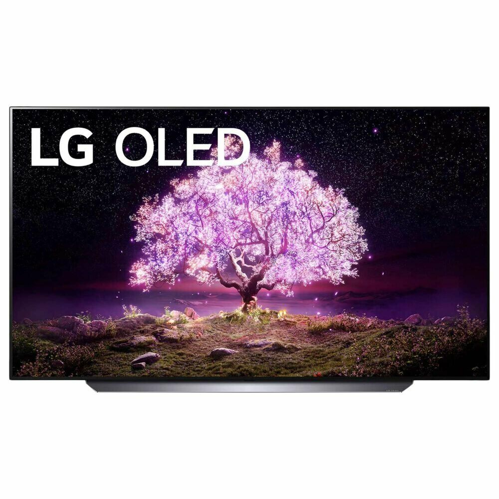 BRAND NEW LG 77 Class OLED 4K HDR Smart TV ThinQ with Alexa webOS OLED77C1PUB. Available Now for 3449.95