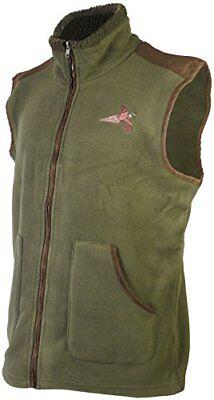 Savage Island Fleece Gilet Shooting Body Warmer with Pheasant Embroidery