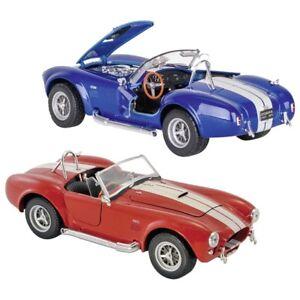 Welly-Modellauto-Shelby-Cobra-427-S-C-1965-Spritzguss-1-24-L-17-cm