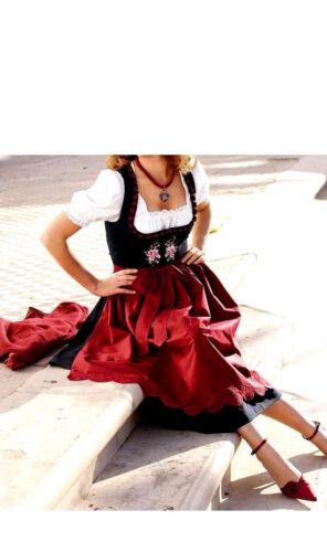 MODE 42-44 0210291904 TRACHTEN DIRNDL SCHWARZ-KIRSCHE GR