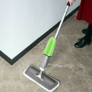 Kawachi Spray Mop - Floor Mop With Removable Washable Cleaning microfiber K354