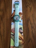 Ice Age Dawn Of The Dinosaurs Digital Watch - Rare - Nip Teal
