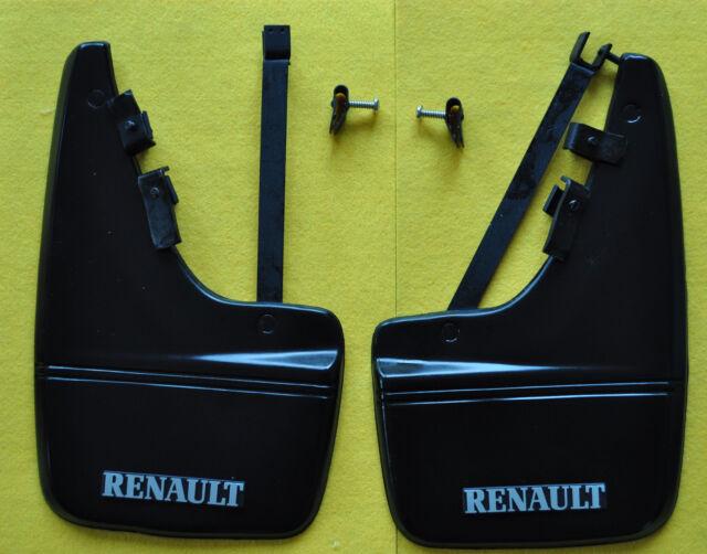 Neu original Renault Boutique Schmutzfänger R9 R11 Phase II HINTEN KOMPLETT