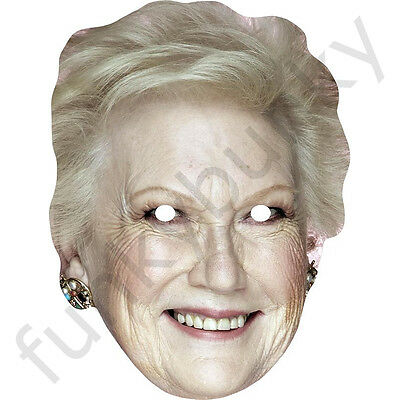 All Our Masks Are Pre-Cut! Agony Aunt Celebrity Mask Denise Robertson