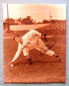 Original MLB DHOF Bobby Doerr Boston Red Sox Signed Baseball  Photo
