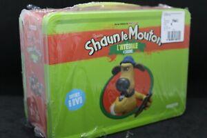 """coffret 6 dvd """" Shaun le Mouton """" l'intégrale des 4 saisons valise valisette"""