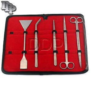 DDP-5PCS-Aquarium-Tank-Grass-Plants-Cleaning-Tweezers-Scissors-Trimmer-Tool-Kit