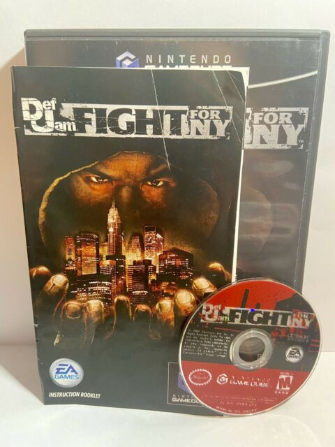 Def Jam: Fight for NY (GameCube) Works! Complete!😀Ships L⚡️GHTN⚡️NG Fast!
