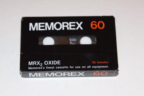 Memorex 60 Audio Cassette Tape MRX2 Oxide Single 4