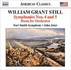 William Grant Still: Symphonies Nos. 4 & 5; Poem for Orchestra (CD, Sep-2009, Naxos (Distributor))