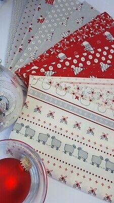 5 Diseños Navidad Fat Quarters Pack