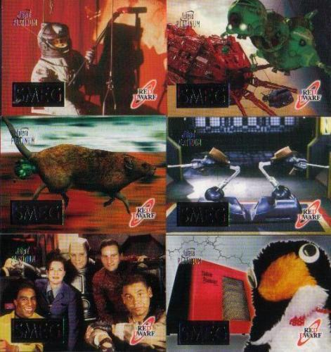 CHOOSE RED DWARF SMEG CHASE CARDS   SG1 TO SG6 BY FUTERA ...