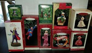 Hallmark-Keepsake-Joker-Superman-Hot-Wheels-Barbie-Star-Trek-Snoopy-Catwoman-LOT