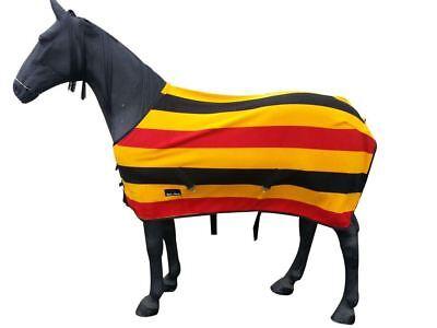 Equitazione Cavallo Cooler Stabile Show Inverno Viaggio Combo Tappeto In Pile Taglia 4 3-7 0-