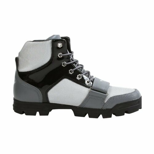 grey Shoes Boots Mens 5 Mid Uk9 Creative White Leather Black Recreation Dio 67FqOwvZ