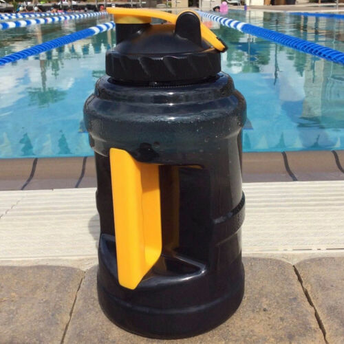 JQ/_ 2.5L Gym Fitness Outdoor Travel Sport Cycling Leakproof Water Bottle with