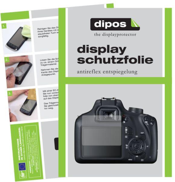 6x Canon Eos 4000d Film De Protection D'écran Protecteur Antireflet Dipos Les Consommateurs D'Abord