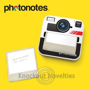 Image is loading Photonotes-Dispenser-Gag-Gift-Novelty-Item-Fun-Stick-
