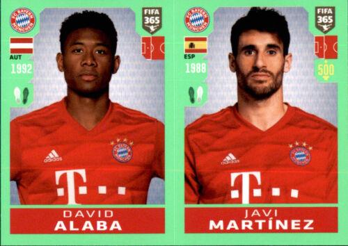 Javi Martinez Panini Fifa 365 2020 Sticker 157 David Alaba