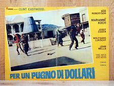 PER UN PUGNO DI DOLLARI fotobusta poster Sergio Leone A Fistful of Dollars