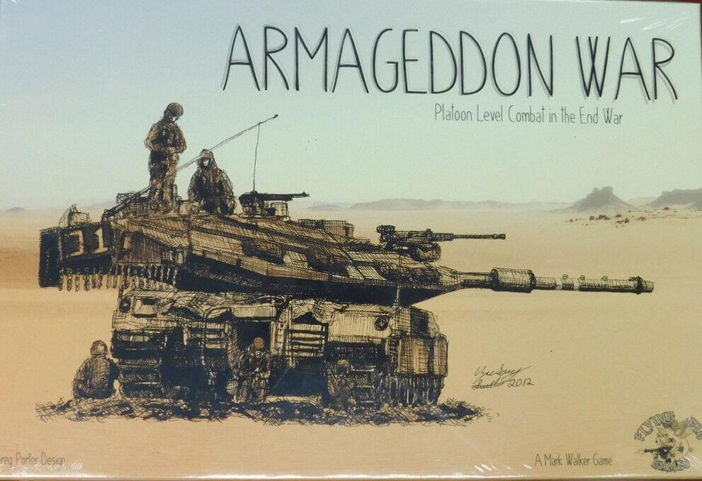 Flying Pig Games Armageddon War Platoon Level Combat board game