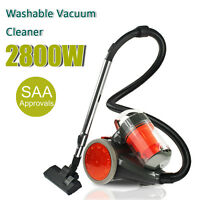 2800w Bagless Cyclone Cyclonic Vacuum Cleaner Filtration System Water Brush 50hz