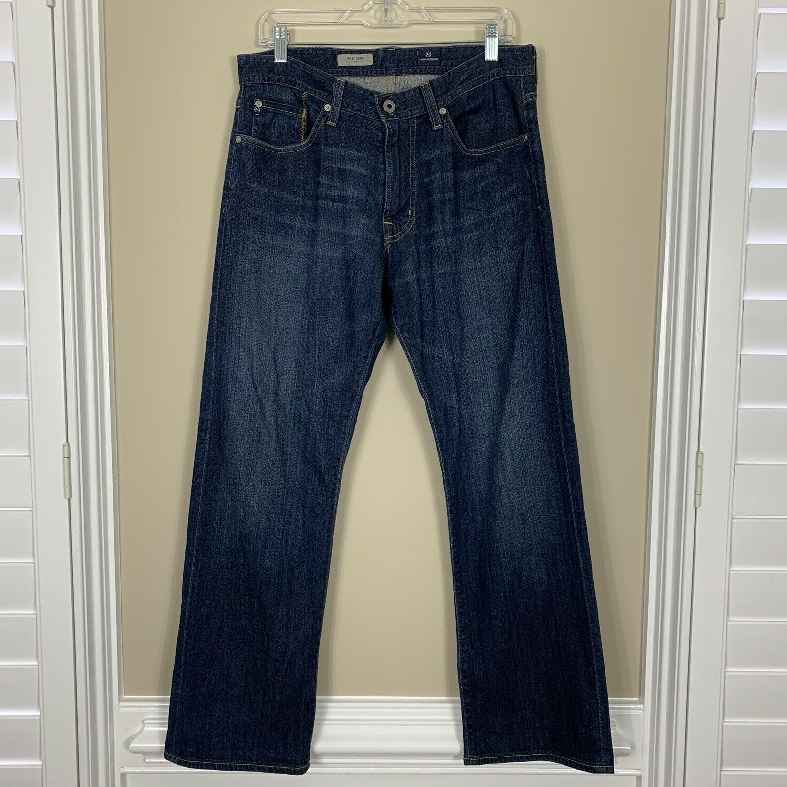 Adriano goldschmied AG The Hero Men's Jeans Size 31x30 Relaxed Fit Denim