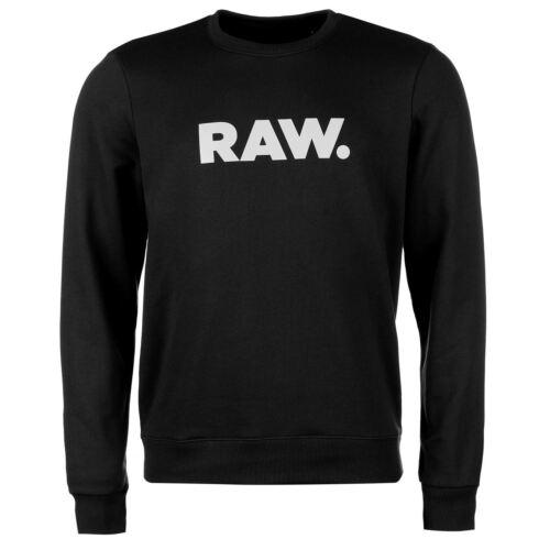 Pullover Regular Weiß Raw G Schwarz Neu Freizeit Logo Pulli Fit Herren Grün star qtwwx8BP