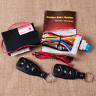 Universal Auto Car Keyless Entry & TWO 3-Button Remote Door Lock Controller Kit