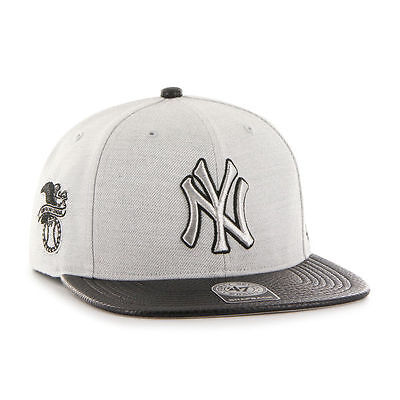 Weitere Ballsportarten Mlb New York Ny Yankees Basecap Baseballcap Brand '47 Captain Grau Snapback