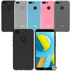 uk store so cheap reasonable price Details about Housse etui coque pochette silicone gel fine Huawei Honor 9  Lite + verre trempe