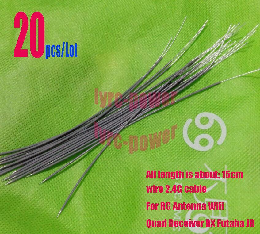 Antenna Wire Suit Futaba JR Hirec Ect black 35mhz  Fm Reciever Rx Arial