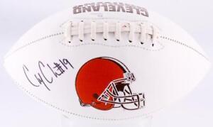 Corey-Coleman-Signed-Cleveland-Browns-Logo-Football-JSA