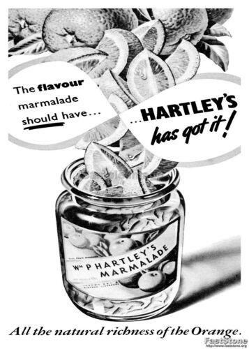 Poster Wall art Reproduction. Hartleys has got it vintage Marmalade