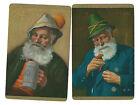 Vintage Playing/Swap Cards Gentlemen