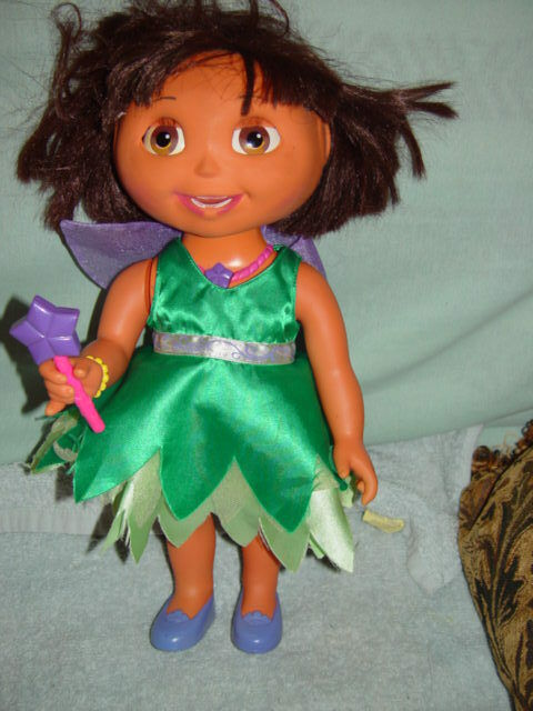Dora The Explorer  Fairy Wishes  Doll, Animated Interactive