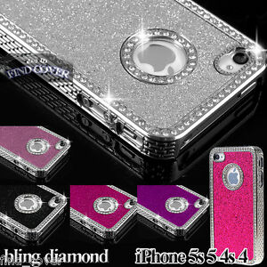 iPHONE-5S-5-IPHONE-4S-4-CASE-LUXURY-CRYSTAL-DIAMOND-GLITTER-BLING-BACK-COVER