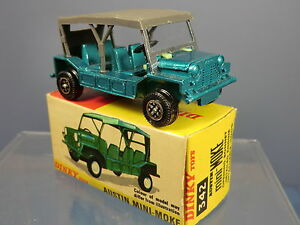 Dinky Toys Modèle No.342 Mini Moke Rare Version    Mib  transitional