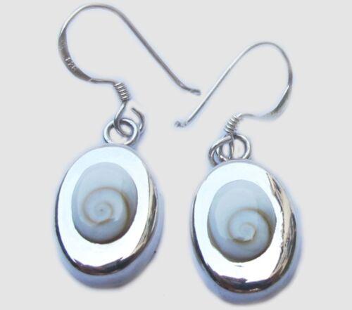 Thai shiva ojo pendiente de plata esterlina 925