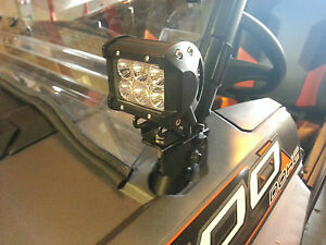 Polaris Rzr Led Cube Light Brackets Fits Rzr Xp1k Rzr
