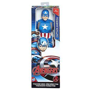 MARVEL-Avengers-Serie-de-Hero-Titan-30-5cm-Capitan-America-Figura-c0757