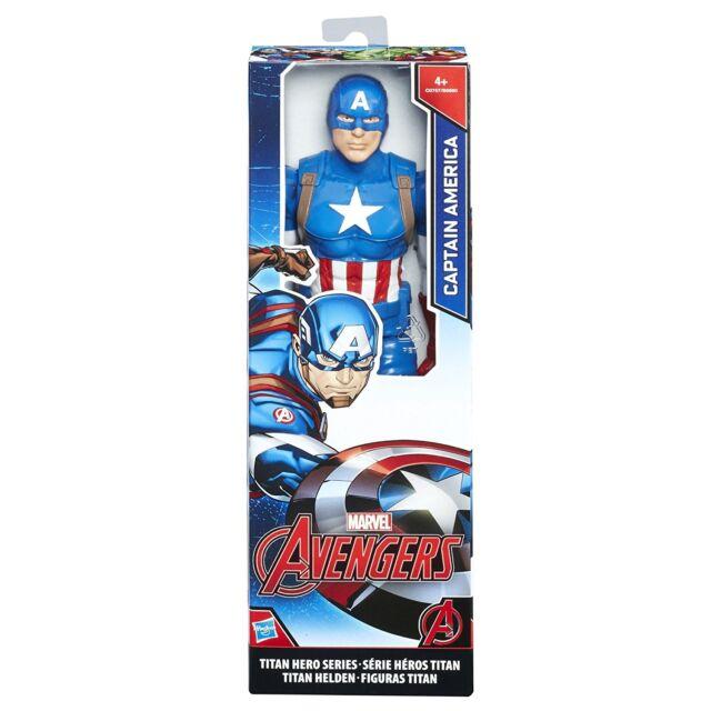 MARVEL Avengers Serie de Hero Titan 30.5cm Capitán América Figura c0757