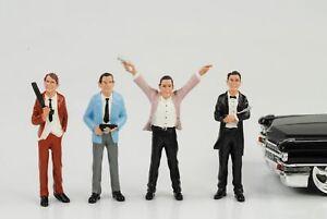 Gangster-Mafia-Raeuber-4-Figuren-Set-Figur-1-24-Figures-American-Diorama