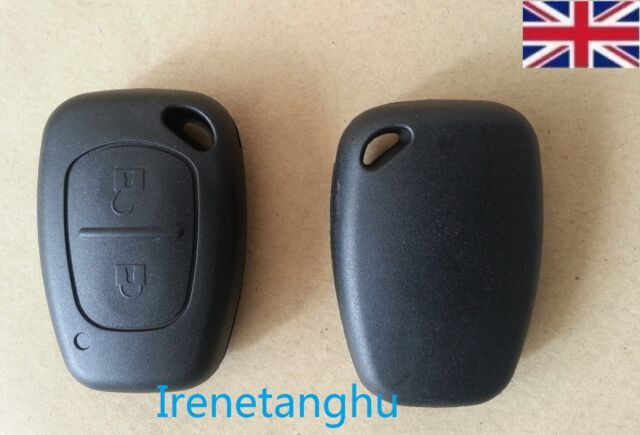 Remote 2 Button Key Fob Case for Vauxhall Opel Movano/Vivaro Renault Trafic