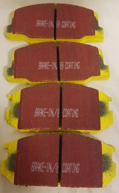 Lagerauflösung EBC YellowStuff Bremsbeläge Bremsklötze  DP41494R BMW 5 E60