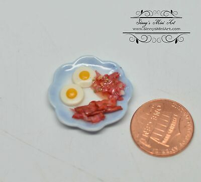 Dollhouse Bacon and eggs for dolls Thumbnail 112 and 16