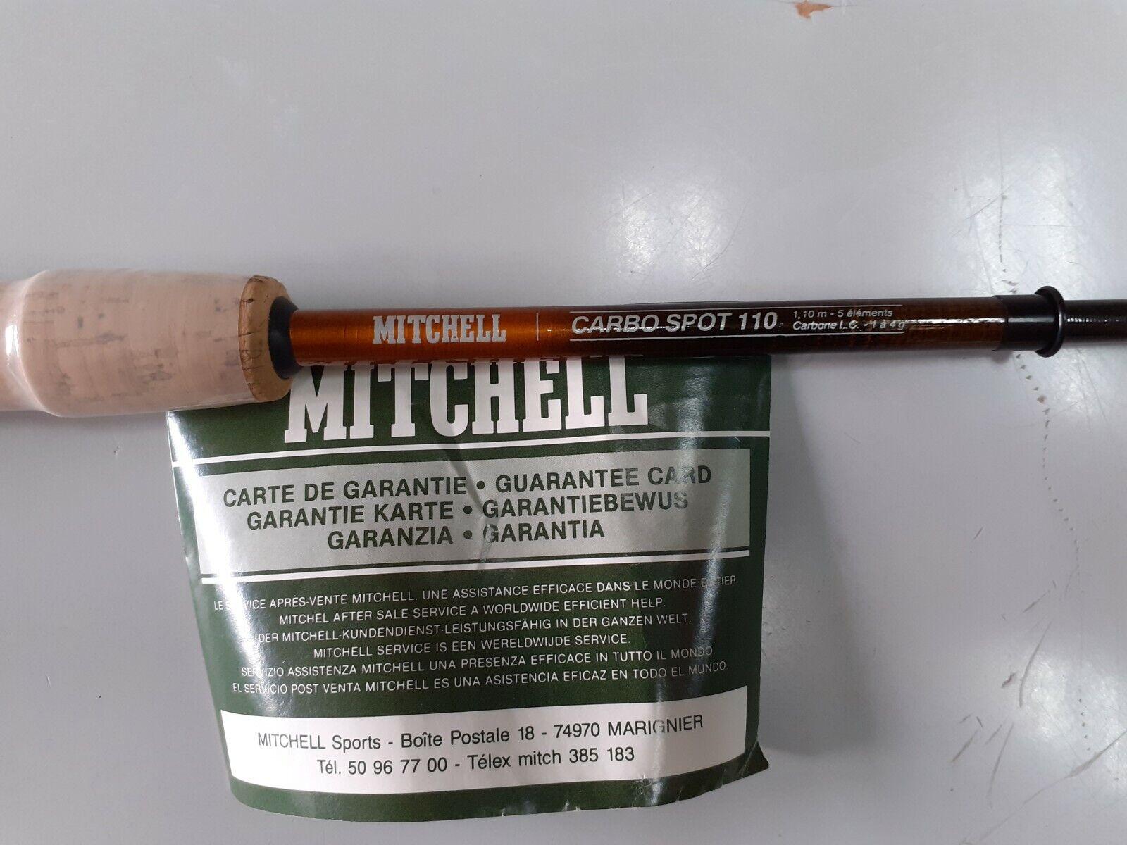 Caña Mitchell carbono para pesca en rio